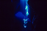 暗闇のダイビング